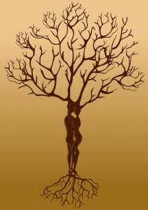 Baum, Balance, männlich und weiblich, männliche und weibliche Seite
