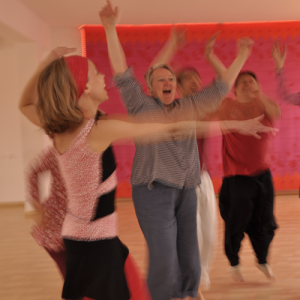 Freude, Lebensfreude, das Leben feiern, Freies Tanzen