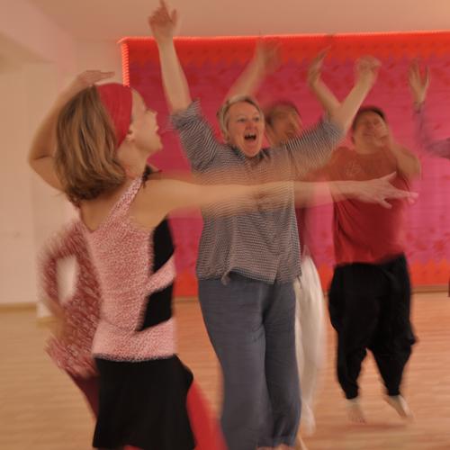 Freude, Lebensfreude, Freies Tanzen