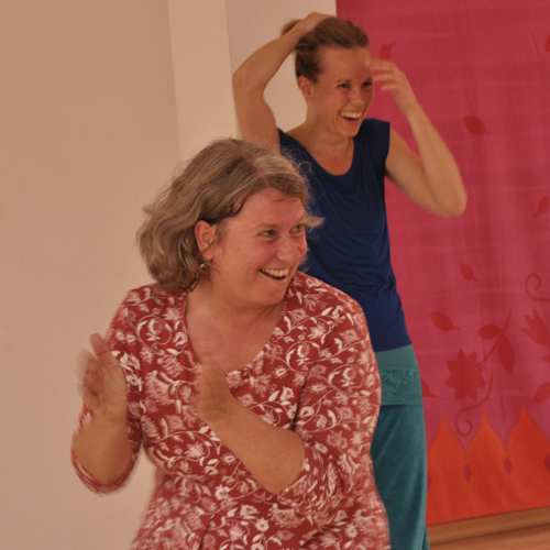 Freude, Tanzen, Spielen, Lachen