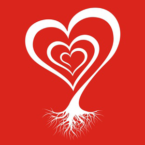 Herz, Baum, Wurzel