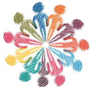 Vielfalt, Kreis, Verbindung, Vernetzung, Gemeinsam, stark