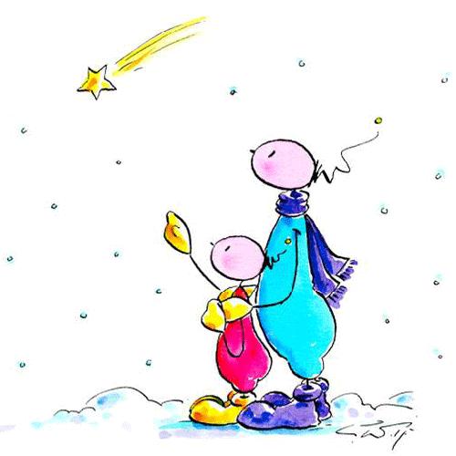 Weihnachten, Kind, Licht, Stern