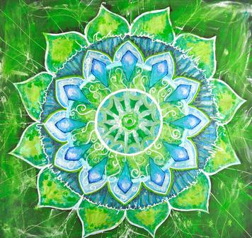 Mandala, Zyklus, Kreislauf