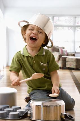 Freude, Kind, Wirkung erzeugen