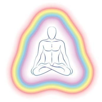 Aura, Meditation, Balance, inneres Gleichgewicht, Chakra