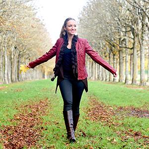 Herbst, liebevoller Weg, Bestimmung, Berufung, Freude