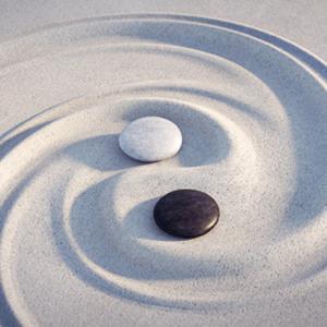 Yin Yang, Harmonie, Einheit, Frieden, Balance, Gleichgewicht