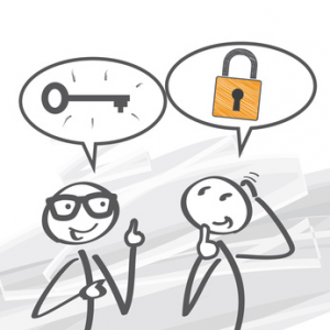 Problem, Lösung, Kommunikation, Gespräch, Beziehungs-Marketing