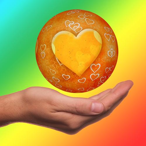 Herz, Hand, Liebe