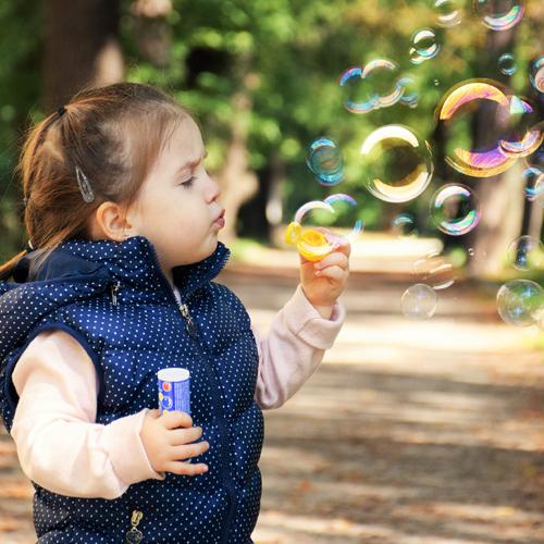 Spiel, Kind, Seifenblasen, Kreativ