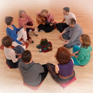 Gruppe, Heilung, Achtsam, Erfahrungsraum