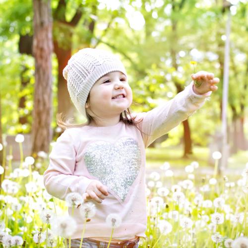 Kind, Freude, Frühling, Lachen, Glück