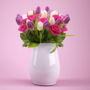 Blume, Tulpe, Rose, Danke, Dankbarkeit