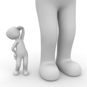Urteil, Vergleich, Projektion, Selbstwert, Anpassung, sich Kleinmachen
