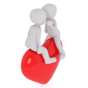Herz, Liebe, Kommunikation, Gespräch