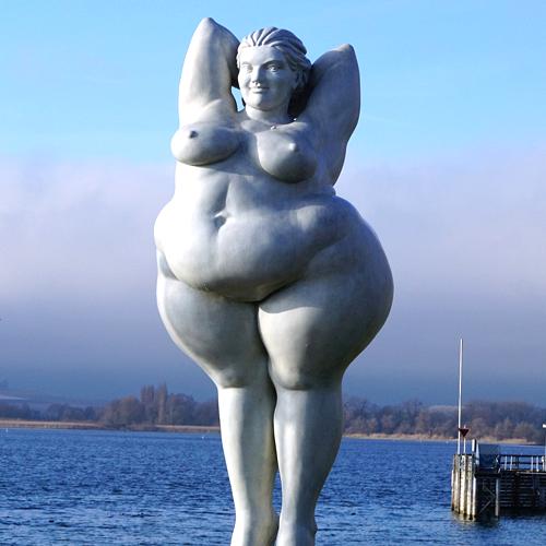 Frau, Körperbild, Selbstliebe, Selbstbewusstsein, Figur, mollig, dick