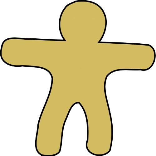 Körperbild, Lebkuchenmann, Figur, Selbstliebe, Selbstbewusstsein