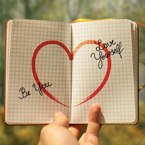 Selbstwertgefühl, Herz, Liebe, Selbstliebe, Authentizität, be you