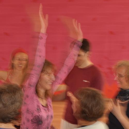 Freude, Tanzen, Potential, Ausdehnung, wahre Größe
