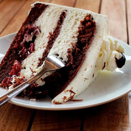 Torte, Süßigkeiten, Kirschtorte, Versuchung