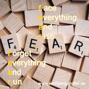 fear, Angst, Wachstum, Bedeutung